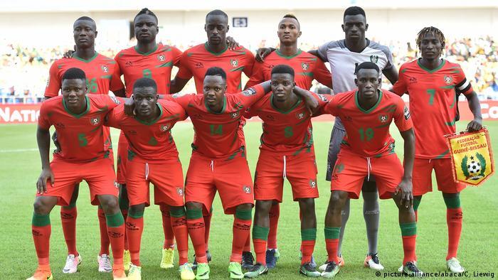 Fußball | Africa Cup 2017 | Gabun vs Guniea Bissau | Team Guinea Bissau