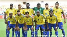 Fußball | Africa Cup 2017 | Gabun vs Guniea Bissau | Team Gabun