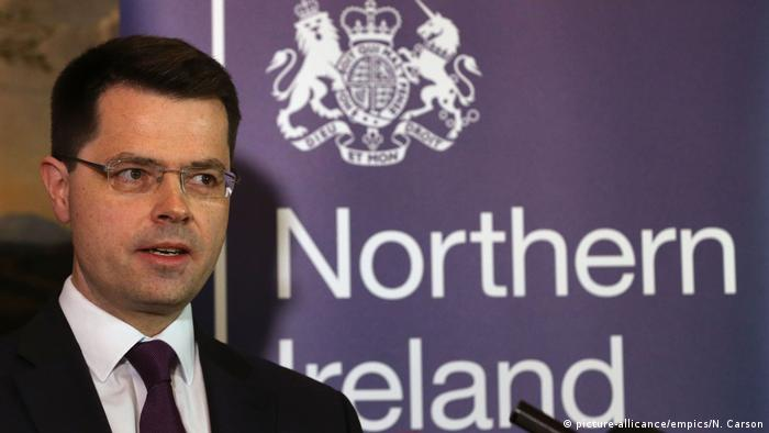 Nordirland | Minister James Brokenshire (picture-allicance/empics/N. Carson)