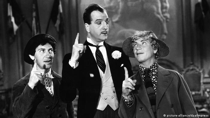 Film still with the Marx Brothers (picture-alliance/dpa/Impress)