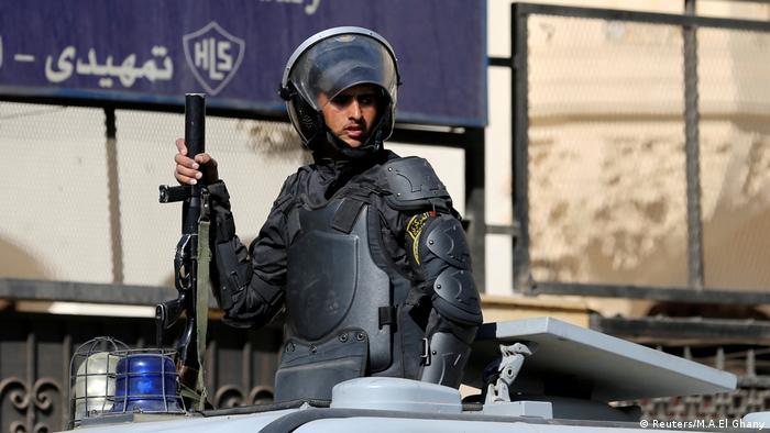 Ägypten Kairo Polizei Symbolbild (Reuters/M.A.El Ghany)