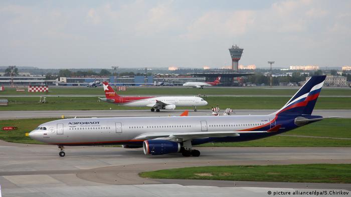 Airbus A330 Aeroflot Russland (picture alliance/dpa/S.Chirikov)