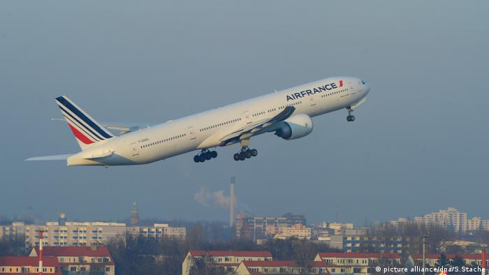 Air France Boeing 777 (picture alliance/dpa/S.Stache)