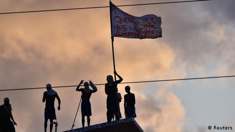 Alcacuz Gefängnis Revolte Aufstand Brasilien (Reuters)