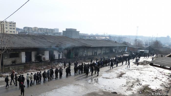 Flüchtlinge Belgrad