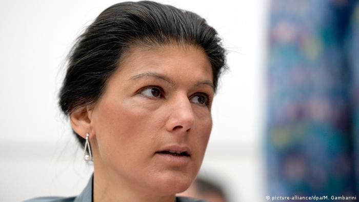 Sarah Wagenknecht of Die Linke