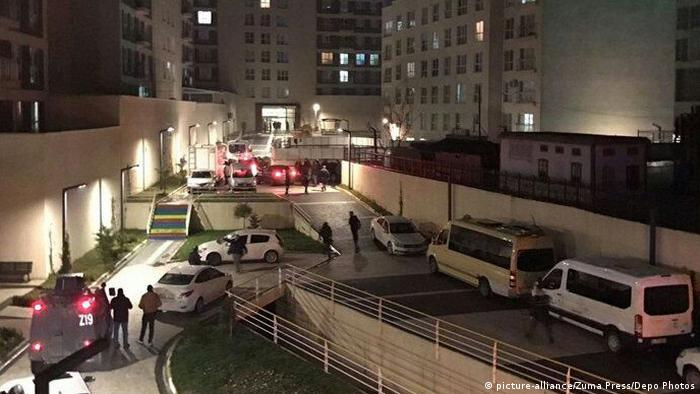 Türkei Istanbul - Festnahme des Attentäters aus der Silvesternacht (picture-alliance/Zuma Press/Depo Photos)
