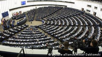 Straßburg Europaparlament - Plenarsaal