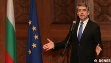 Bulgarien Präsident Rossen Plevneliev