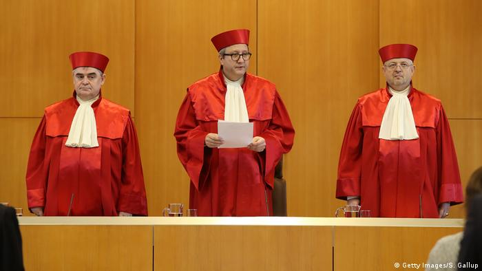 German constitutional judges (Getty Images/S. Gallup)