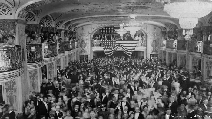 US Präsidenten Amtseinführungen Herbert Hoover (Reuters/Library of Congress)