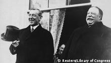 US Präsidenten Amtseinführungen Woodrow Wilson und President Taft
