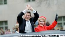 US Präsidenten Amtseinführungen Ronald und Nancy Reagan
