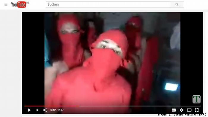 Screenshot Youtube Brasilien Strafvollzug Vorderung Häftlinge (Quelle: Youtube/Portal O TEMPO)