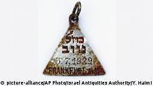 Israel Holocaust Archaeology Anhänger wie von Anne Frank