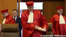 """Gerichtspräsident Andreas Voßkuhle: """"Der Parteiverbotsantrag hat keinen Erfolg"""""""