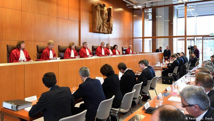 Anayasa Mahkemesi Ocak ayında NPD'ye yasak başvurusunda karar açıklamıştı.