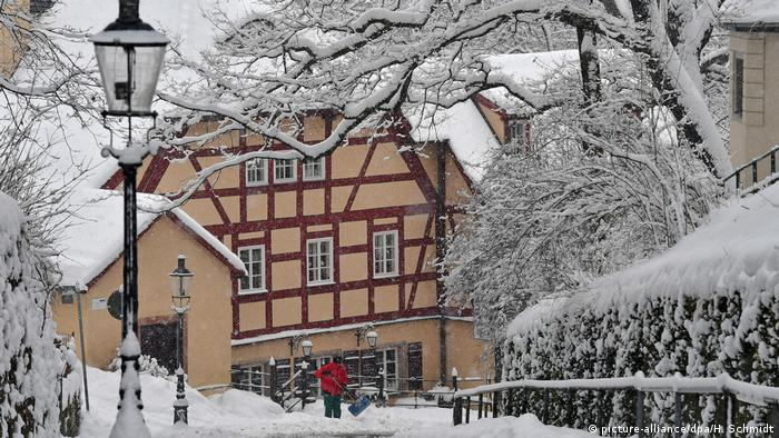 Winter in Sachsen BdT (picture-alliance/dpa/H. Schmidt)