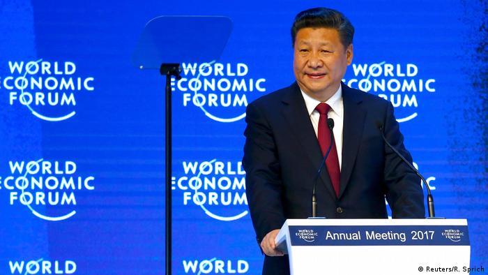 Davos Chinas Präsident Xi