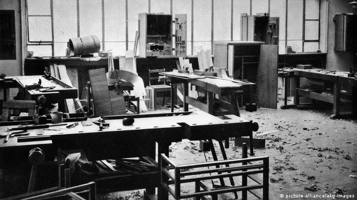 Столярная мастерская в Баухаузе, 1923 год