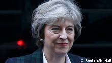 Will Trump in Washington zu mehr Kooperation mit Europa ermutigen: Großbritanniens Premierministerin May