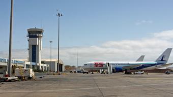 Kap Verde Internationaler Flughafen Praia