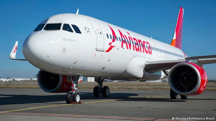 Airbus A320 Neo der brasilianischen Fluggesellschaft Avianca Brasil (Divulgação/Avianca Brasil)