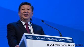 Schweiz Davos China Präsident Xi Jinping Weltwirtschaftsforum
