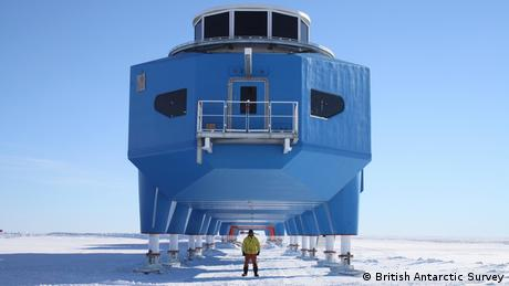 Halley VI Station Antarktis (British Antarctic Survey)