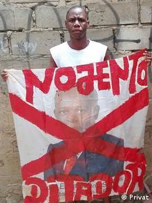 Nito Alves Aktivist in Angola