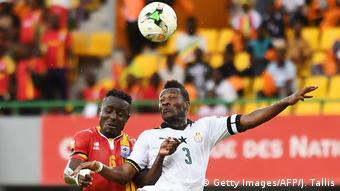 Fußball-Afrikameisterschaft Ghana vs. Uganda (Getty Images/AFP/J. Tallis)