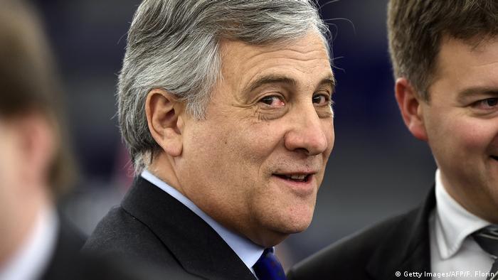 AP'nin başkanlığına Antonio Tajani seçildi