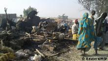 Nigeria Luftangriff auf Flüchtlingslager