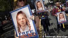 USA Plakat für die Freilassung von Chelsea Manning