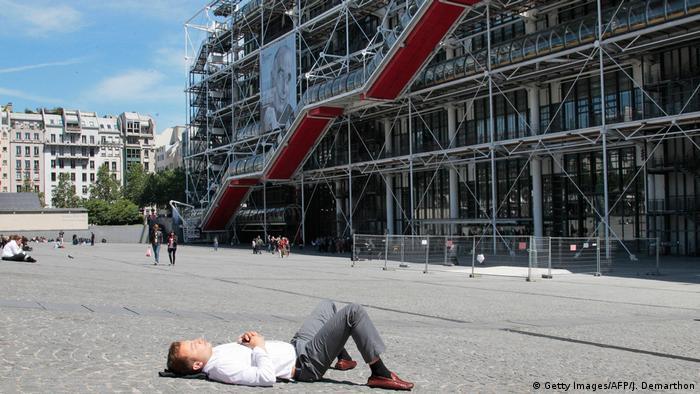 Centre Pompidou square (Getty Images/AFP/J. Demarthon)