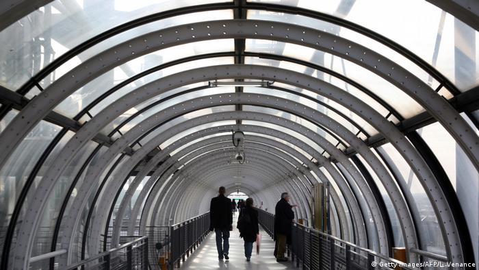 Centre Pompidou, escalator (Getty Images/AFP/L. Venance)