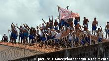 Brasilien Unruhen im Gefängnis Alcacuz in Natal