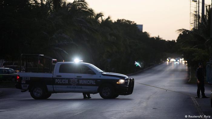 Mexiko Angriff auf Staatsanwaltschaft Cancún