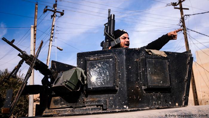 Irak Kampf um Mossul (Getty Images/AFP/D. Dilkoff)