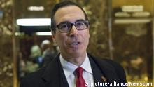 USA Steven Mnuchin in New York