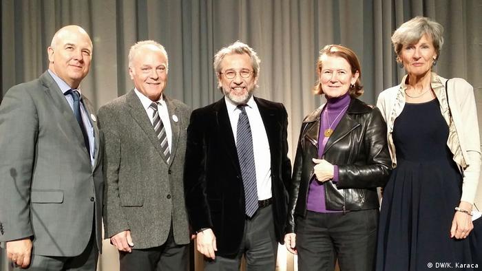 Muisznieks, Boudgoust, Dündar ve Schöller ödül töreninde.
