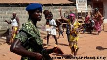Gambia Wahlen in Serrekunda