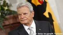 Bundespräsident Joachim Gauck - Neujahrsempfang