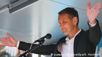 Deutschland AfD-Politiker Björn Höcke in Schwerin