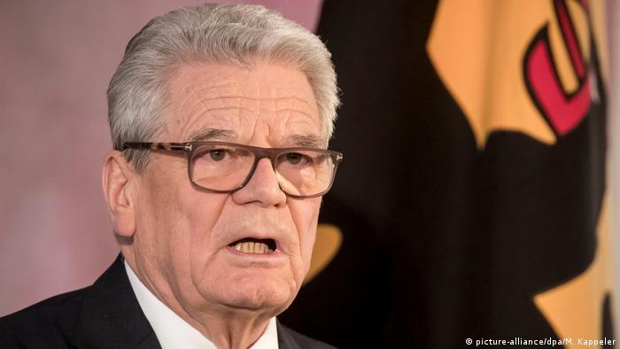 Deutschland Abschiedsrede von Bundespräsident Gauck