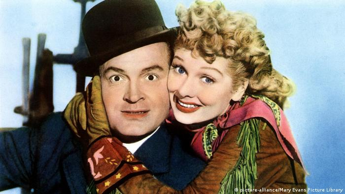 Bob Hope, Lucille Ball (picture-alliance/Mary Evans Picture Library)