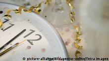 Symbolbild Uhr Silvester