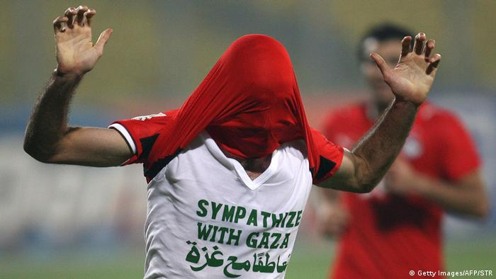 Ägypten Fußballspieler Mohamed Abou Traika