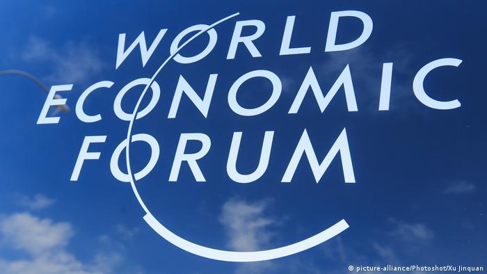 Schweiz Davos Logo Weltwirtschaftsforum