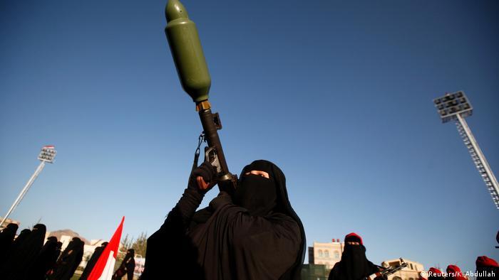 Jemen Parade Huthi-Bewegung